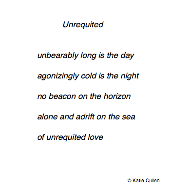 In a Word … Unrequited