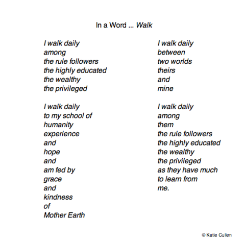 In a Word … Walk